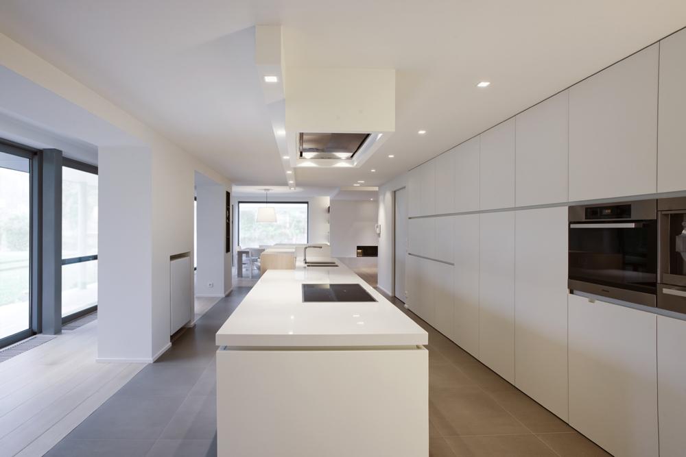 Luifel keuken: een nieuwe keuken voor de familie broeckaert door de